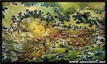 art from sulamith wulfing - little mermaid